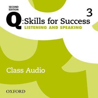 Q: Skills for Success: Level 3. Listening & Speaking Class Audio CD