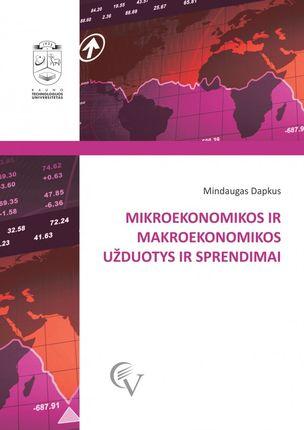 Mikroekonomikos ir makroekonomikos užduotys ir sprendimai