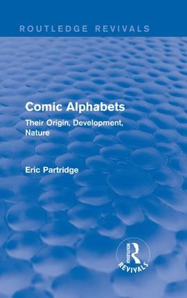 Comic Alphabets