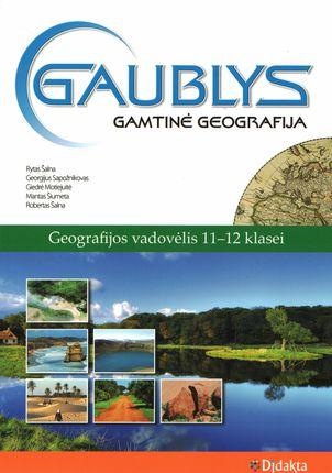 Gaublys. Gamtinė geografija. Vadovėlis 11-12 klasei