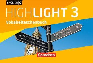English G Highlight Band 3: 7. Schuljahr - Hauptschule - Vokabeltaschenbuch