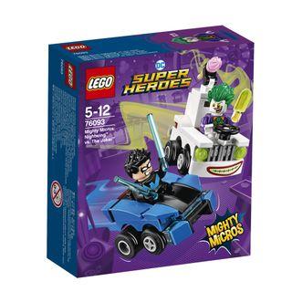 76093 LEGO® Super Heroes Galingi mažieji: Nightwing™ prieš The Joker™
