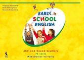 Early School English. ABC and Sound Symbols. 70 cards. Mokomosios kortelės