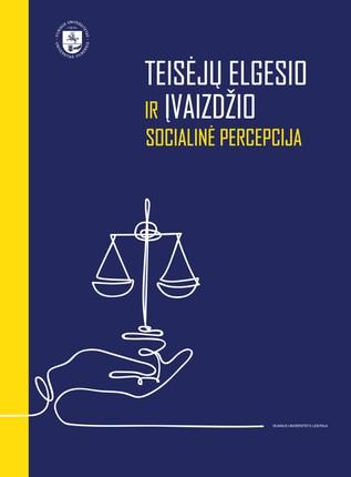 Teisėjų elgesio ir įvaizdžio socialinė percepcija