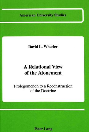 A Relational View of the Atonement