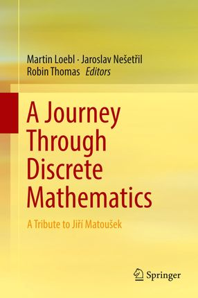 A Journey Through Discrete Mathematics