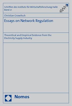 Essays on Network Regulation