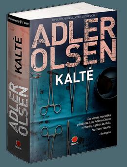 """KALTĖ: bestselerių """"Moteris narve"""", """"Fazanų žudikai"""" ir """"Atpirkimas"""" autoriaus ketvirtoji """"Q"""" serijos knyga – tikras saldainiukas kriminalinių istorijų gurmanams, net piktinantis savo gardumu (minkšti viršeliai)"""