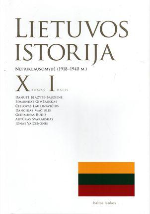 Lietuvos istorija X tomas I dalis. Nepriklausomybė (1918-1940 m.)