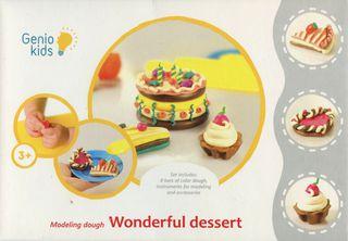 """Kūrybinis rinkinys """"Nuostabus desertas"""", Genio Kids"""