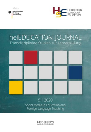 heiEDUCATION JOURNAL / Social media in education and foreign language teaching