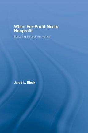When For-Profit Meets Nonprofit
