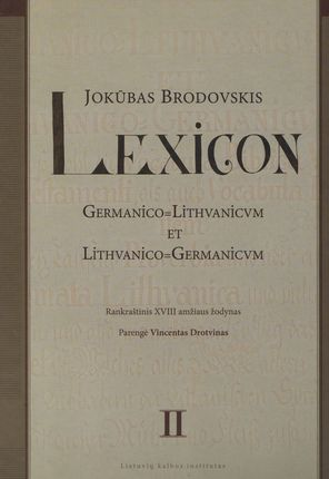 Lexicon II tomas