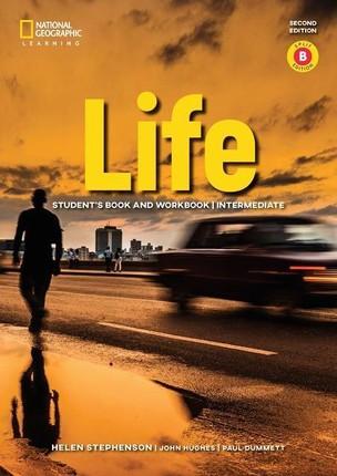 Life - Second Edition B1.2/B2.1: Intermediate - Student's Book and Workbook (Combo Split Edition B) + Audio-CD + App