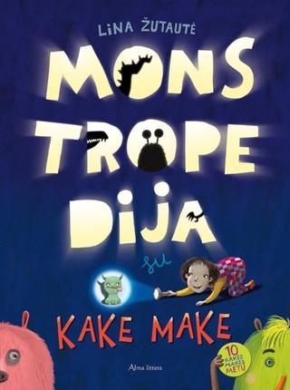 Monstropedija su Kake Make  (knyga su defektais)