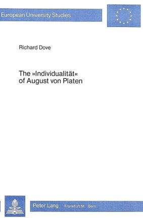 The «Individualität» of August von Platen