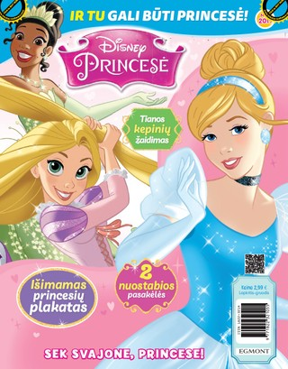 Disney Princesė. Žurnalas. Nr 9 2019