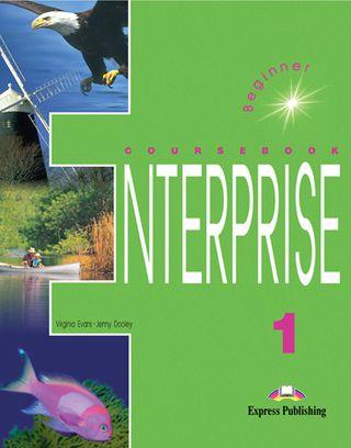 Enterprise 1. Student's book. Anglų kalbos vadovėlis