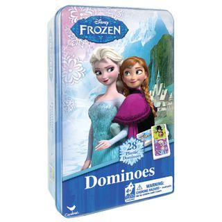 CARDINAL GAMES domino metalinėje dėž. Frozen, 6033086