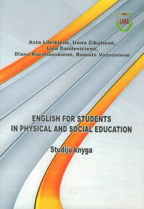 English for students in physical and social education