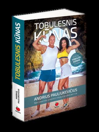 TOBULESNIS KŪNAS: antroji bestselerio TOBULAS KŪNAS autoriaus Andriaus Pauliukevičiaus knyga. Nauji patarimai, pratimai ir mitybos taisyklės jam ir jai – dar išsamiau aprašyta ir dar detaliau iliustruota