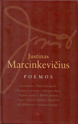 Poemos. Justinas Marcinkevičius
