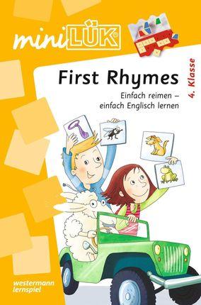 miniLÜK. First Rhymes: Einfache Reime