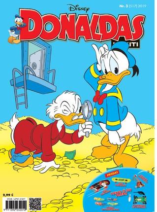 Donaldas ir kiti. Žurnalas. Nr 3 (517)