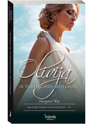 Olivija ir turtingasis australas. Balforų šeimos paveldėtojos. 8 knyga
