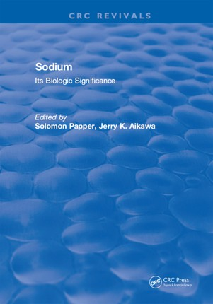 Sodium: Its Biologic Significance