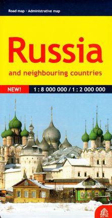 Rusija. Kelių žemėlapis