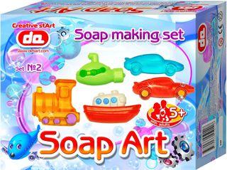 """""""Soap Art"""" muilo kūrybos rinkinys. Transportas"""