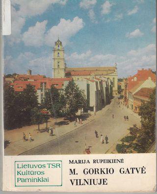 M.Gorkio gatvė Vilniuje