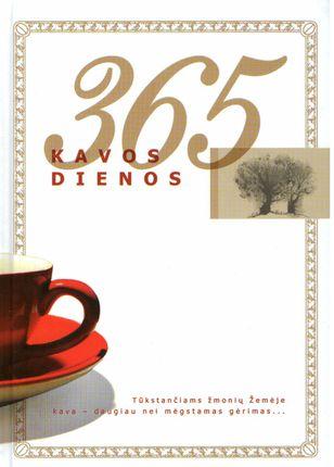 365 kavos dienos