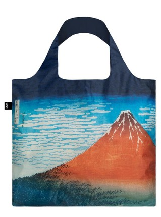"LOQI pirkinių krepšys ""HOKUSAI Red Fuji, Mountains in Clear Weather Bag"""
