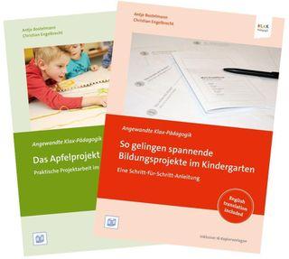 """Set """"So gelingen spannende Bildungsprojekte im Kindergarten"""" und """"Das Apfelprojekt"""""""