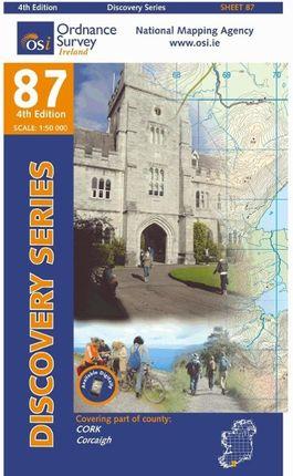 Irish Discovery Series 87. Cork 1 : 50 000