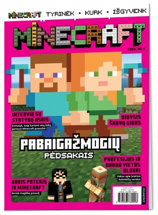Minecraft. Žurnalas 2020 Nr. 2