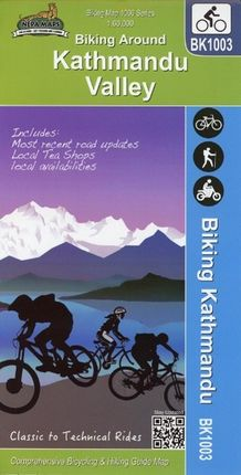 Biking Around Kathmandu Valley 1 : 60 000