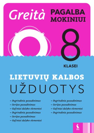 Lietuvių kalbos užduotys 8 klasei: greita pagalba!