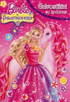 Barbie ir paslaptingos durys. Galvosūkiai su lipdukais