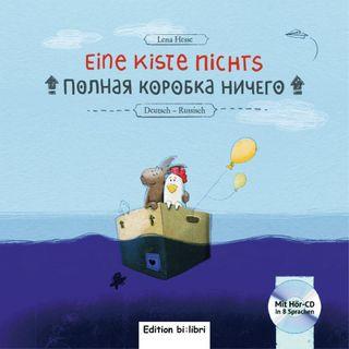 Eine Kiste Nichts. Kinderbuch Deutsch-Russisch