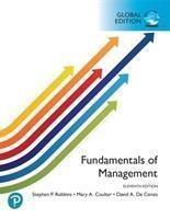 Fundamentals of Management, Global Edition