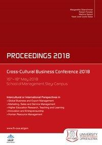 Cross-Cultural Business Conference 2018