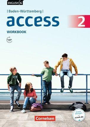 English G Access Band 2: 6. Schuljahr - Baden-Württemberg - Workbook Audios online