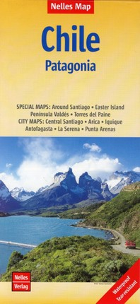 Nelles Map Chile - Patagonia 1 : 2 500 000