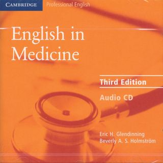 English in Medcine. CD