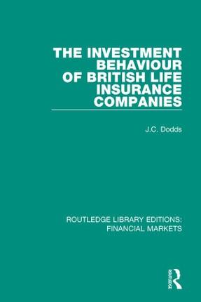 The Investment Behaviour of British Life Insurance Companies