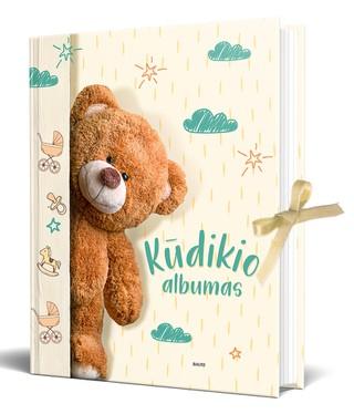 KŪDIKIO ALBUMAS. Jauki, žaisminga, nuostabiai iliustruota knyga, padėsianti išsaugoti pirmųjų kūdikio metų įvykius ir prisiminimus