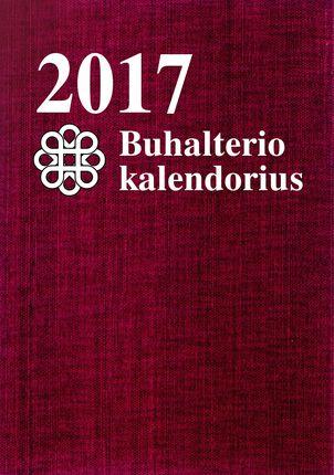 2017 metų buhalterio kalendorius